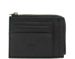 Portafoglio UOMO Timberland new credit card holder with zip BLACK MM153.PL001