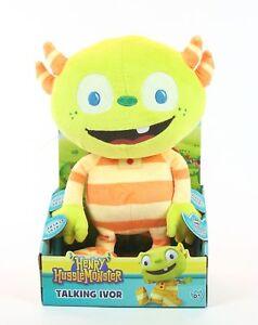 HENRY-HUGGLEMONSTER-talking-IVOR-6-034-plush-soft-toy-Disney-huggle-monster-NEW