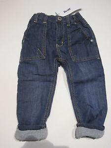 Steiff-Jungen-Thermojeans-Jeans-gefuettert-Gr-86-12-18-Mon-NEU