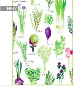 Garnier-Thiebaut-Kitchen-Towel-French-POTAGER-Spring-Vegetables-Flowers-2019-22