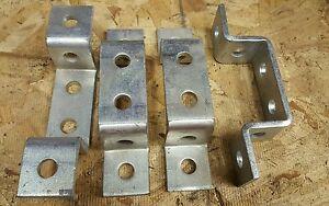 Unistrut-P1043a-6-hole-U-fitting-4pcs-zinc