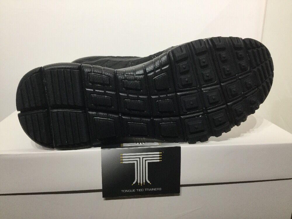 Nike lupinek Flyknit Chukka ACG ACG ACG ~ 826077 001 ~ Regno Unito taglia 12 | Forte calore e resistenza al calore  | Uomini/Donna Scarpa  b00ca0