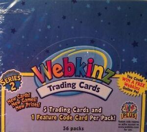 Webkinz Series 3 Trading Card Box SEALED NEW POSS MAGICAL RETRIEVER CODE CARD