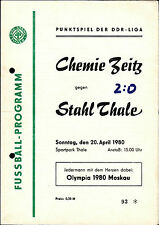 DDR-Liga 79/80 ZEPA acero Thale-Chemie Zeitz, 20.04.1980