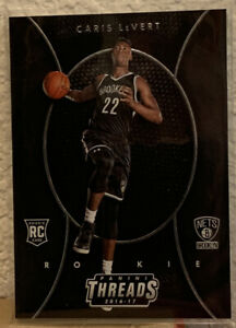 Caris-LeVert-2016-17-Panini-Threads-Etch-Rookie-RC-268-Brooklyn-Nets