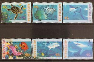 Australia-MiNr-1505-1510-posta-freschi-MNH-634026