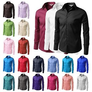 Slim Fit Mens Button Down Shirts | Is Shirt