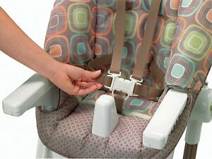 Image is loading Fisher-Price-EZ-Clean-High-Chair-Coco-Sorbet & Fisher-Price EZ Clean High Chair Coco Sorbet   eBay