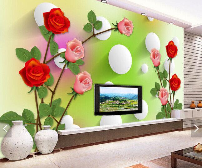 3D Safflower Ball 732 Wallpaper Mural Paper Wall Print Wallpaper Murals UK Carly