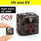 SQ8 Mini Full HD DV Sports Hidden Spy IR Night Vision DVR Video Camera Camcorder