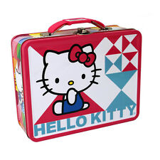 Hello Kitty Metal Tin Lunch Box Oh My NEW Kids Girls Tote Carrier Toys