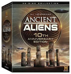 Ancient-Aliens-TV-Series-Complete-Season-1-10-NEW-36-DISC-10TH-ANNIVERSARY-DVD