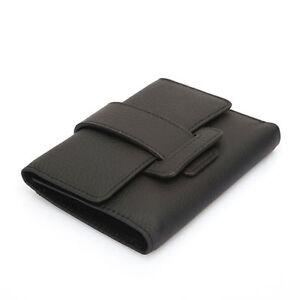 Damen-ECHTLEDER-GELDBEUTEL-im-Slim-Format-mit-Muenzfach-Kreditkarten-Halter-Case