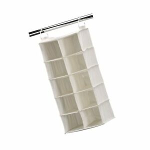 565a134408789 Image is loading Household-Essentials-311344-10-Pocket-Hanging-Shoe-Storage-