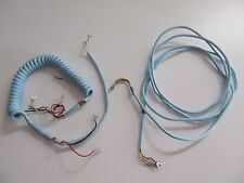 NOS Western Electric Blue Cord Set Spade Terminals not modular