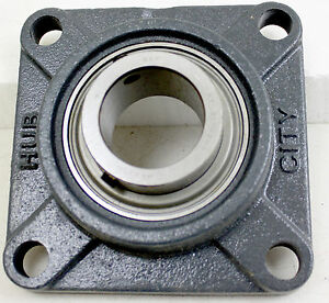 Details about Hub City FB250X2 4 Bolt Flange Bearing Assembly + SKF YAT  211-200 Bearing Insert