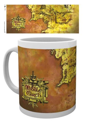 Lord Of The Rings Map Mug