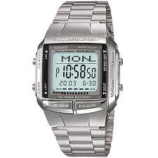 Casio reloj digital db-360n-1aef reloj pulsera caballero de acero inoxidable plata watch nuevo & OVP