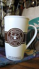2008 Starbucks Seattle Pike Place Exclusive Cigar Band Mug Brown Siren Logo NIB