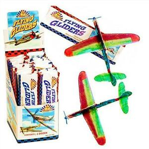 10-x-Power-Flying-Gliders-with-15cm-Wingspan-Boys-Party-Bag-Stocking-Fillers