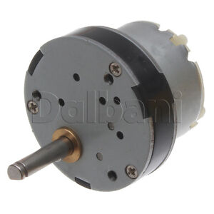 12v dc 130 rpm high torque gearbox electric motor ebay for 12v dc 300 rpm high torque gearbox motor