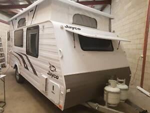 Caravan-Poptop-Jayco-Starcraft-Seperate-Ensuite-Air-2014-As-New-Con