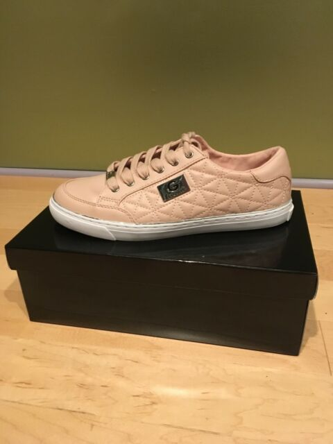 ddf3f89c27e5a G by GUESS Women's Omerica Quilted SNEAKERS Size 8m in Light Pink