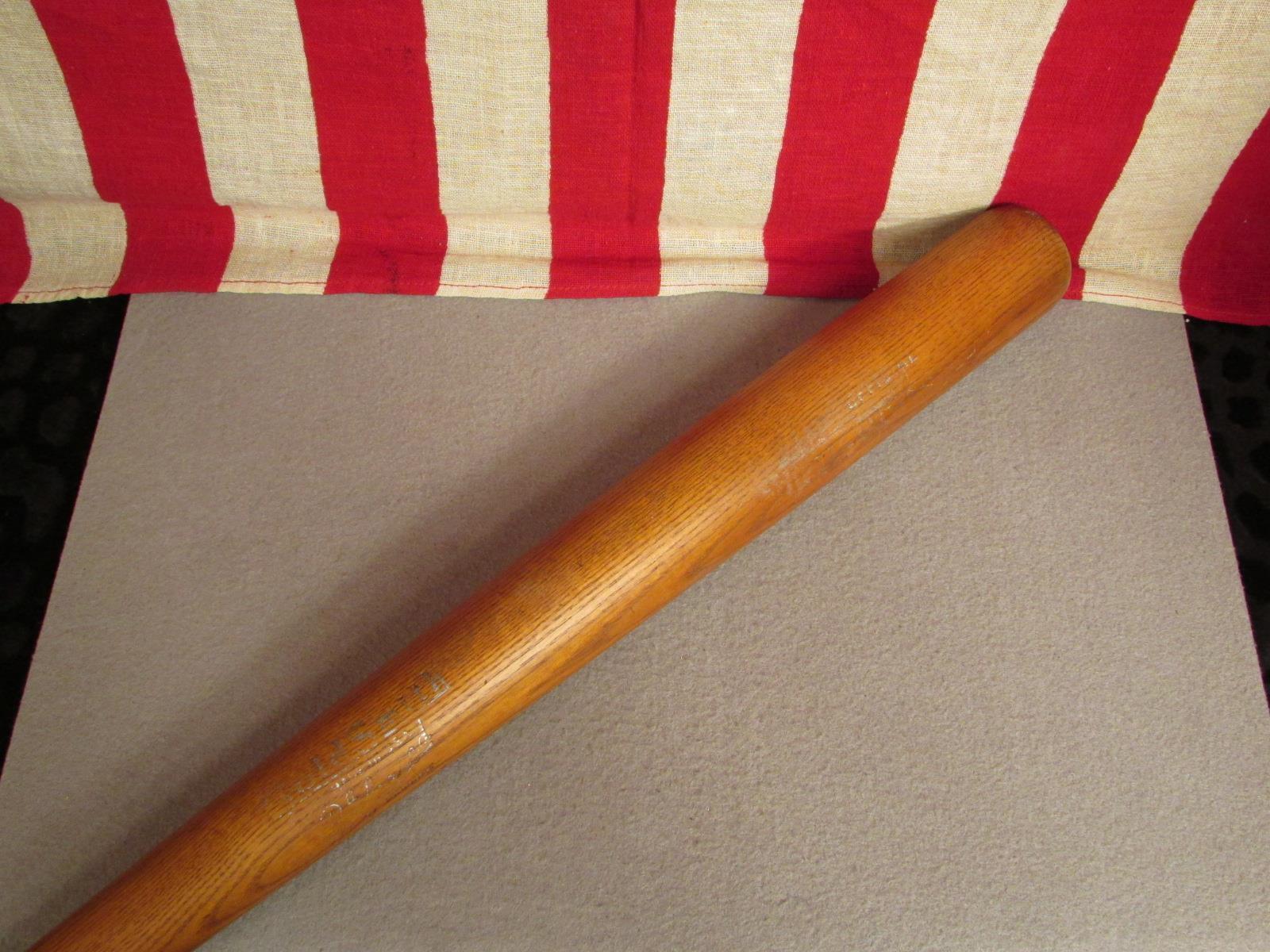 Vintage Goldsmith Holz Baseball Schläger 'Bevorzugt' No.24L No.24L 'Bevorzugt' Offizielles 33