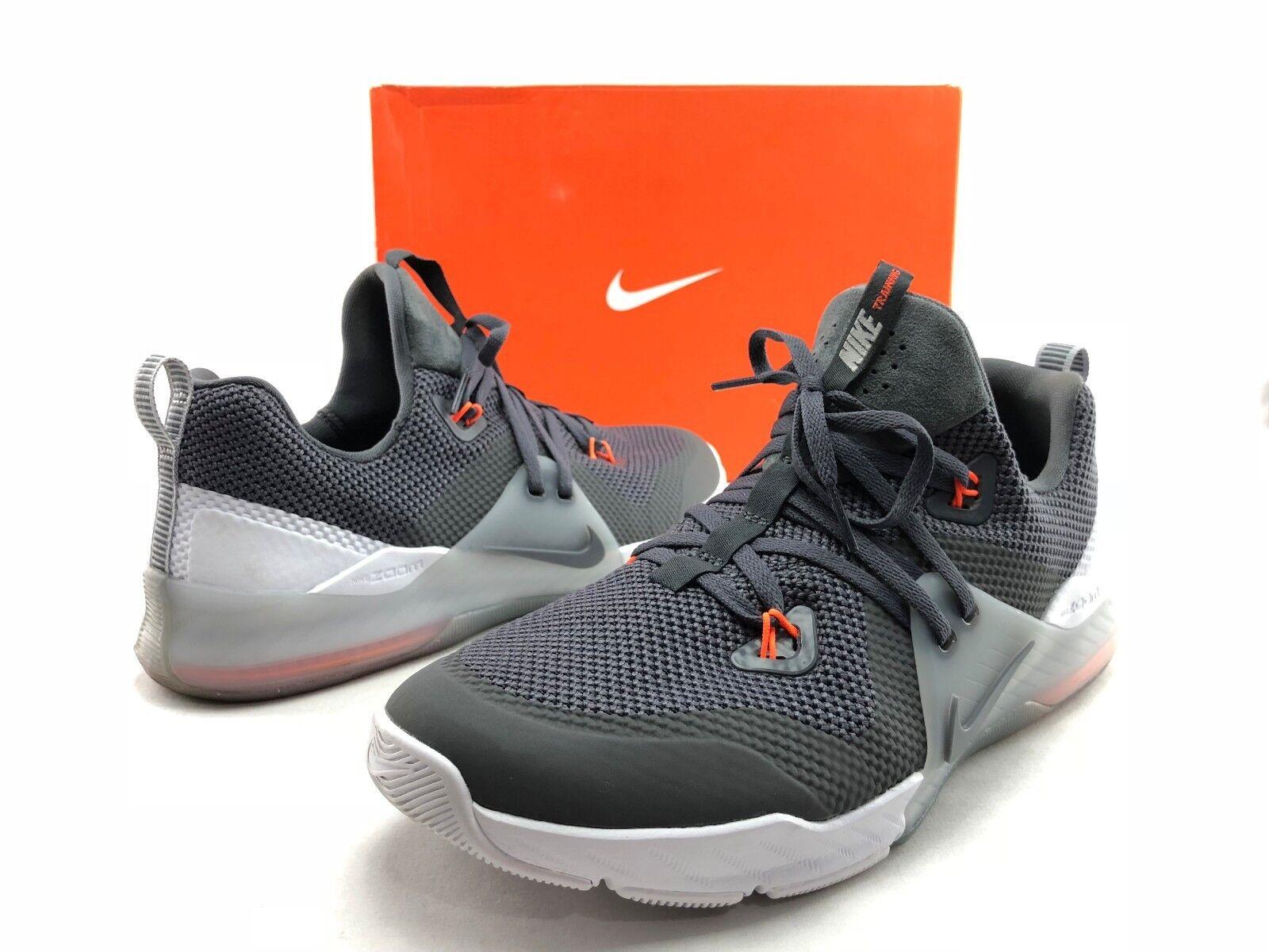 2064679f1e55 Nike Zoom Train Command Men s Grey orange Athletic Training shoes shoes  shoes US 10 C244 8f8636