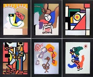 Well-Known-Korean-Artist-Seong-Auh-Modern-Abstract-Mixed-Media-Screen-Prints