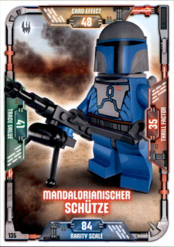 Mandalorianischer Schütze LEGO Star Wars Sammelkarten Serie 1 135