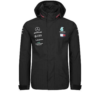 2019 Mercedes-amg F1 Team Uomo Rain Jacket Coat Lewis Hamilton Tommy Hilfiger-mostra Il Titolo Originale Adottare La Tecnologia Avanzata