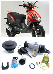 image is loading 4-wire-scooter-moped-ignition-switch-key-set-