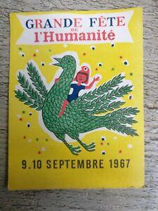Ticket-Feast-L-039-Humanities-Of-September-1967-No-0323710