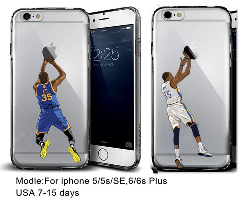 Iphone 6 Phone Cases: Basketball Player Kevin Durant [KD] Silicone Phone Case