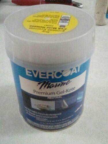 New Polyester Gel-kote evercoat 105676 Natural Quart