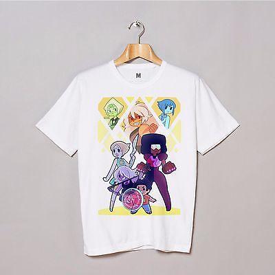Steven Universe 3 Cartoon T shirts Tee Short Sleeve