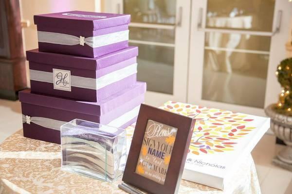 Personnalisées pour mariage ou fête Carte Box