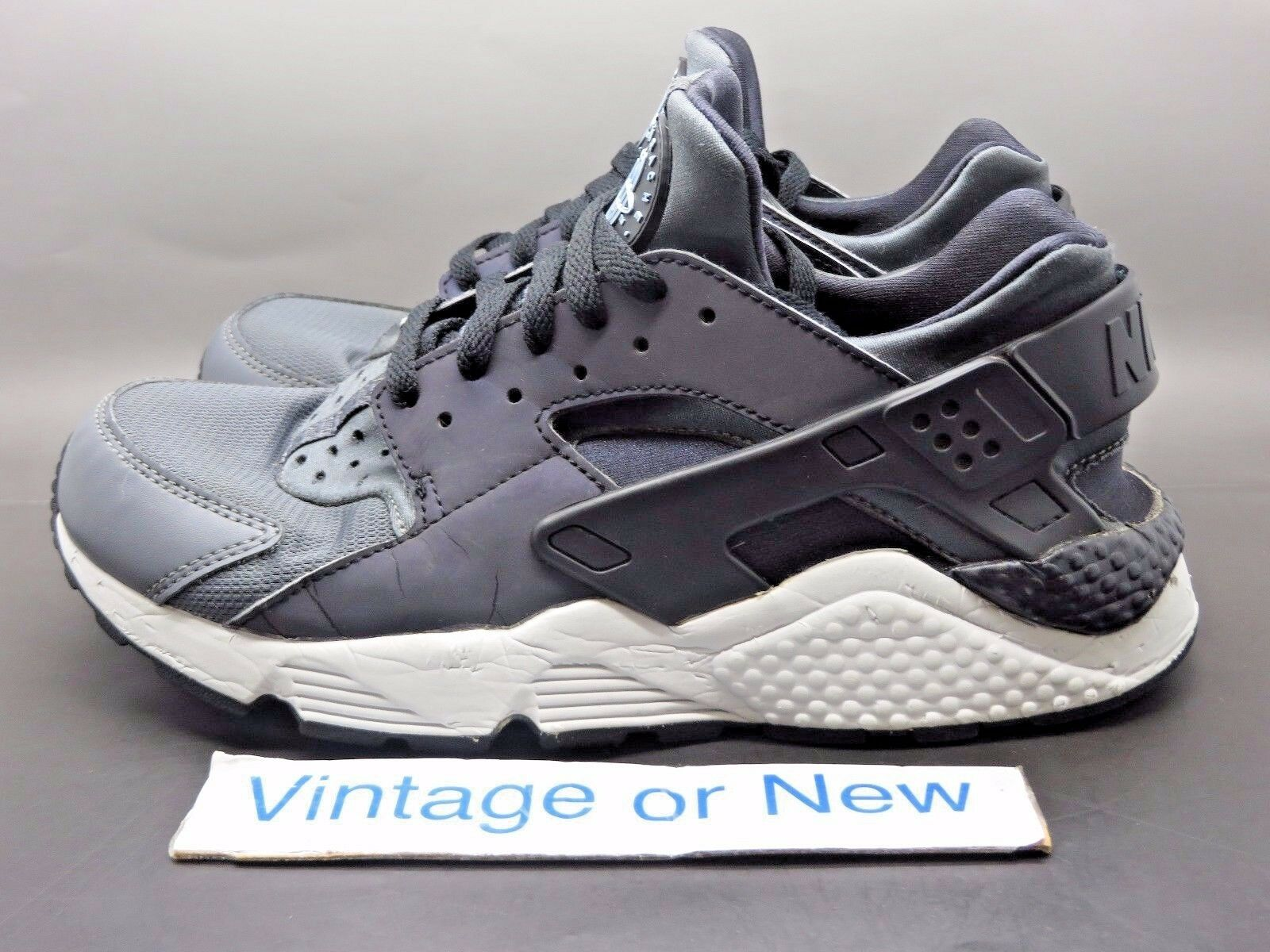 reputable site 49935 a1c68 ... Men s Nike Air Huarache PRM Dark Dark Dark Grey Black Running Shoes sz  8.5 92fcb3 ...