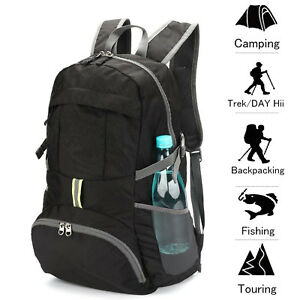 10ae31ad4e3b Image is loading Packable-Daypack-Ultralight-Foldable-Waterproof-Travel- Backpack-Shoulder-