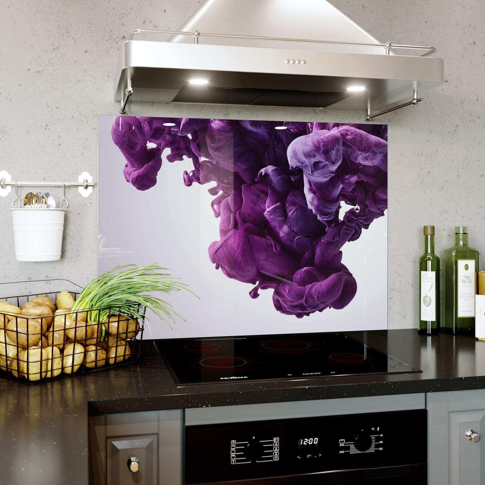 Vidrio Pa Templado De Cocina salpicaduras Panel Pa Vidrio rojo  Pintura Abstracta Splash Prizma SB0395 639187