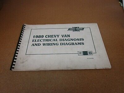 1989 Chevrolet G-Van G10 G20 Sportvan electrical wiring ...
