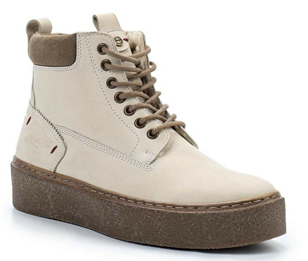 Wrangler Crepe Creek shoes Booties Boots Combat Boots Woman Leather Suede