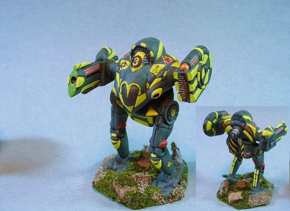 slåsstech målade Lynx slåssmech YG