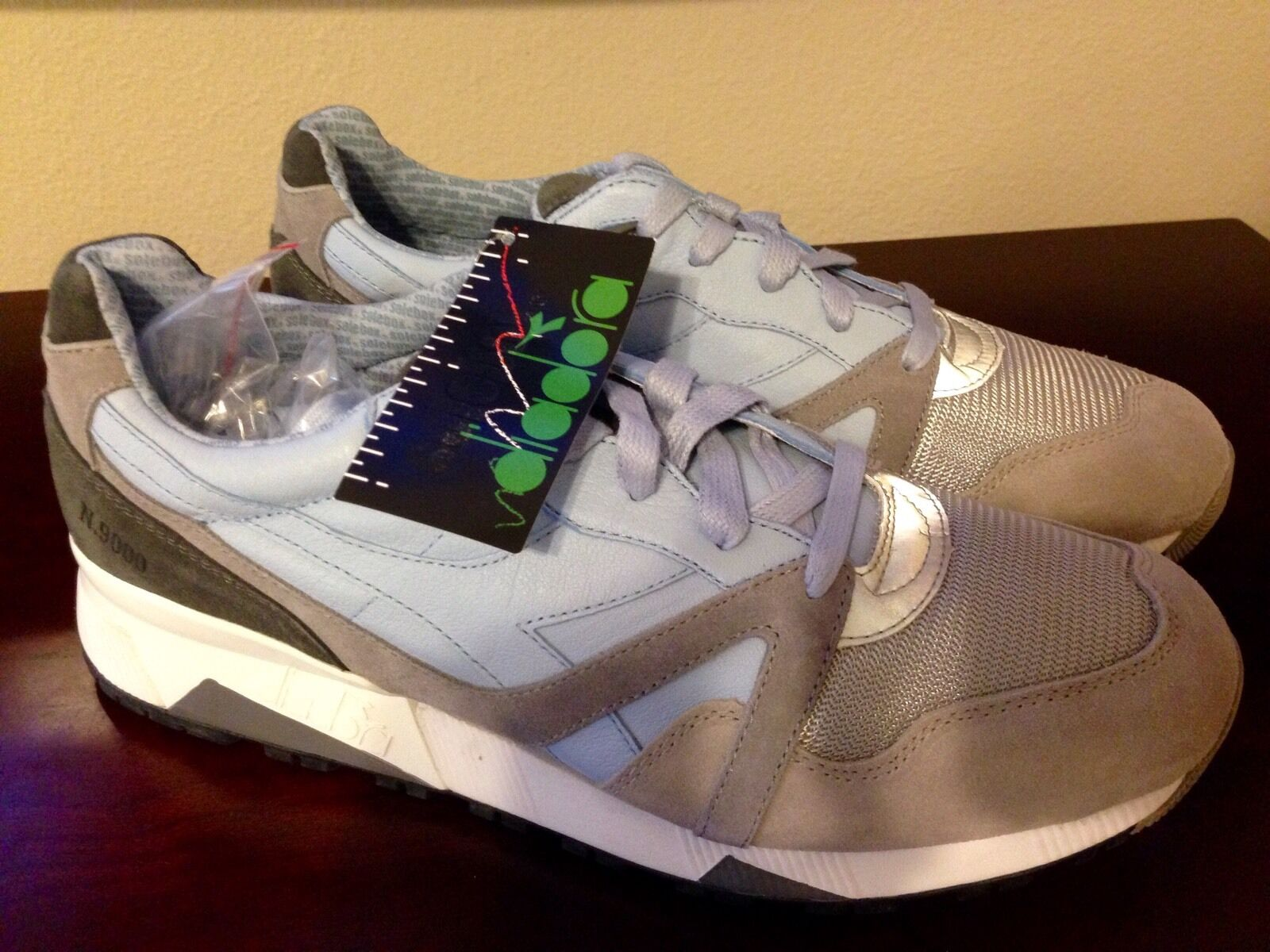 Brand New Diadora N9000 Solebox Ferro Size US 13 Made in  Deadstock