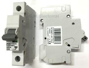 DORMAN SMITH K1PC C06 C10 C16 C20 C32 C40 AMP SINGLE POLE  10KA MCB/'S