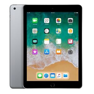 Apple-9-7-034-iPad-6th-Gen-128GB-Space-Gray-Wi-Fi-MR7J2LL-A-2018-Model