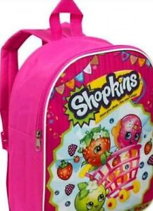 Christmas Presents For Girls.Details About Shopkins Girl S Pink Bag Junior Backpack Christmas Presents For Girls