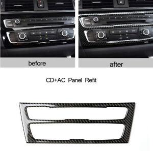 1PCS-Carbon-Fiber-Car-Air-Condition-Panel-Cover-Trim-For-BMW-BMW-F20-F21-1Series