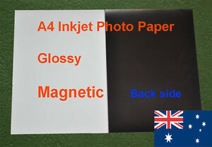 4-sheets-A4-Inkjet-Glossy-Magnetic-Photo-Paper